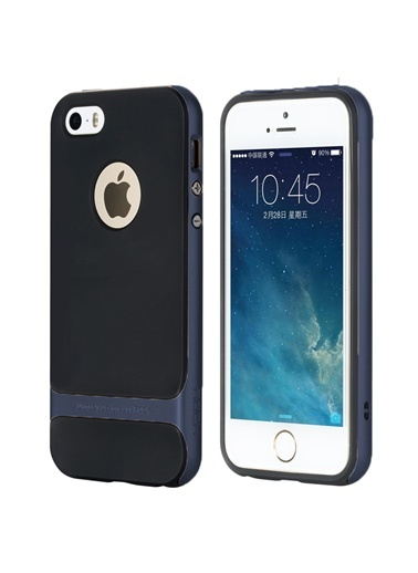 Royce Series Hybrid iPhone 5S Kılıf-Rock